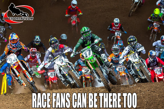 Race fans can be there too