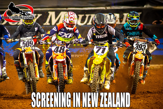 US Supercross series will show on TV in New Zealand
