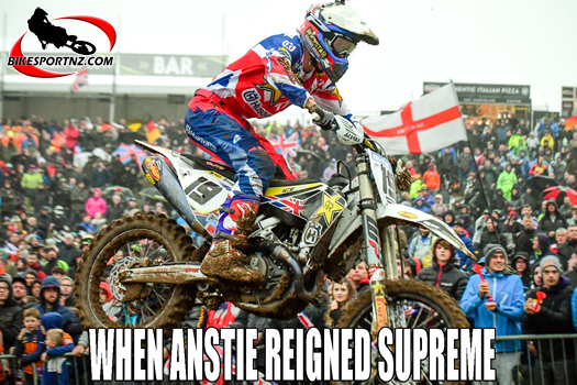 The Motocross of Nations in England in 2017