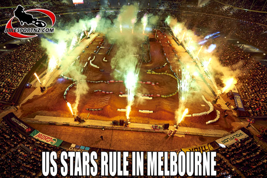 American riders dominate Melbourne supercross
