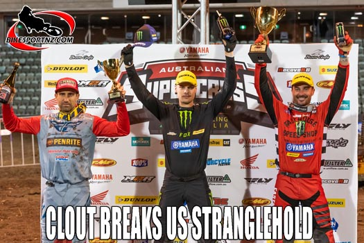Clout breaks Brayton stranglehold on SX Champs