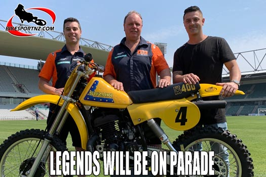 MX and SX legends will be on parade at Wollongong SX