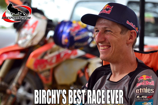 Kiwi international Chris Birch talks about his best race ever