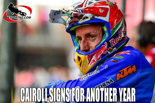 Antonio Cairoli signs on for another year