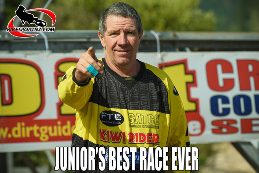 ": ""Best Race Ever"" feature item on the BikesportNZ.com web site."