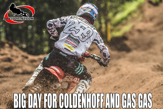 Big weekend for Coldenhoff and Gas Gas