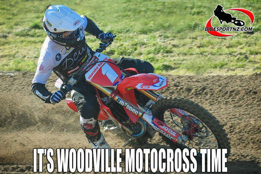 Honda NZ Motocross Grand Prix at Woodville