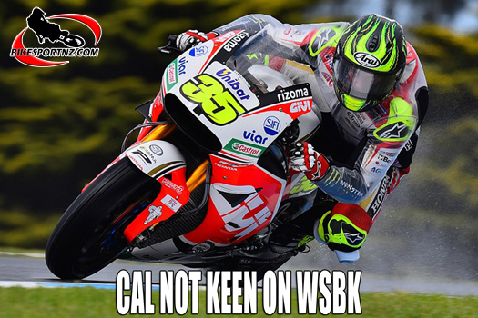 Plenty for Cal Crutchlow to consider