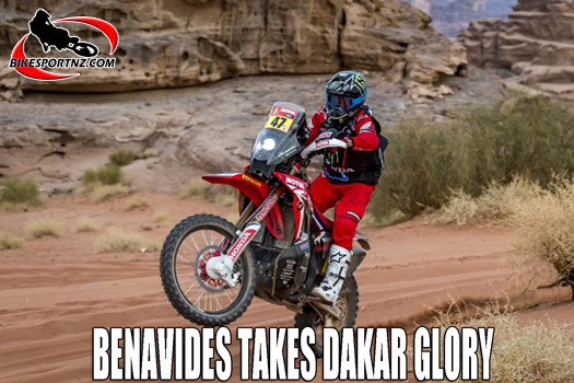 Denavides wins 2021 Dakar rally