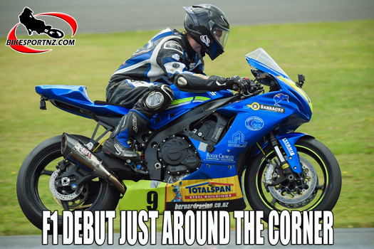 Richie Dibben tries a little more horsepower