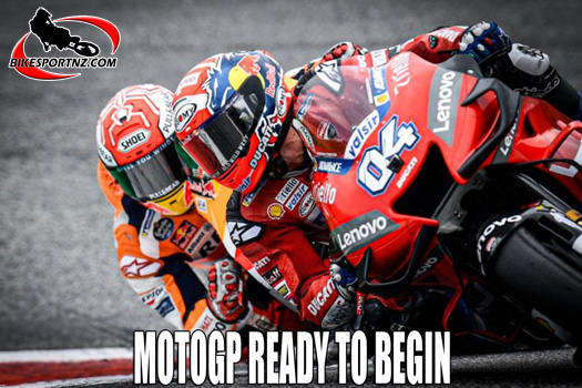 MotoGP ready to launch its 2020 season