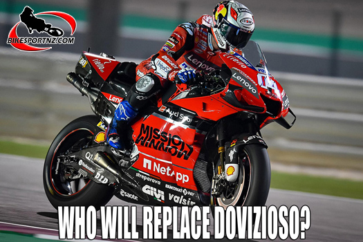 Who will replace MotoGP star Andrea Dovizioso at Ducati?