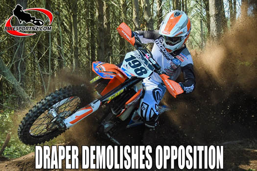 Liam Draper wins Dirt Guide finale near Tokoroa