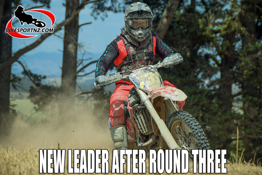Callum Dudson takes over NZ GNCC series lead