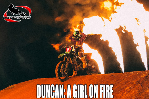 Courtney Duncan a girl on fire