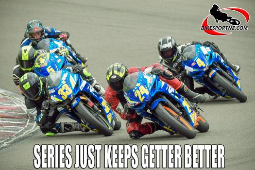 The 2020 Suzuki International Series keeps getting better