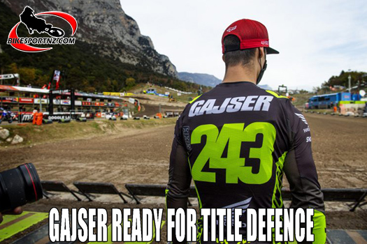 Tim Gajser ready to defend his MXGP crown