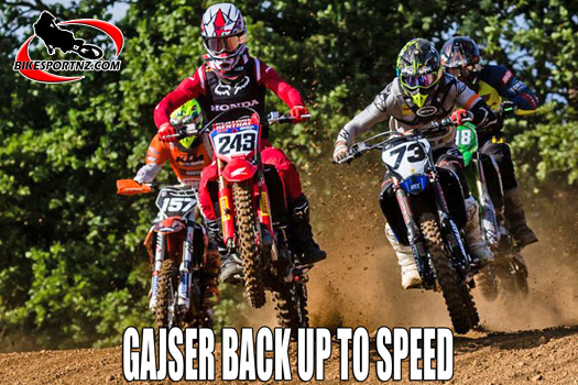 Tim Gajser back up to speed