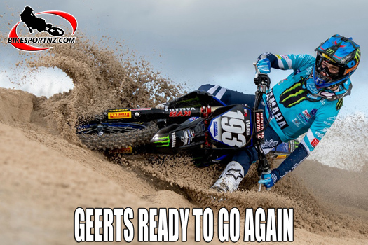 MXGP riders getting ready to race again