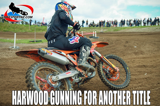Hamish Harwood shows pace to share MX1 glory