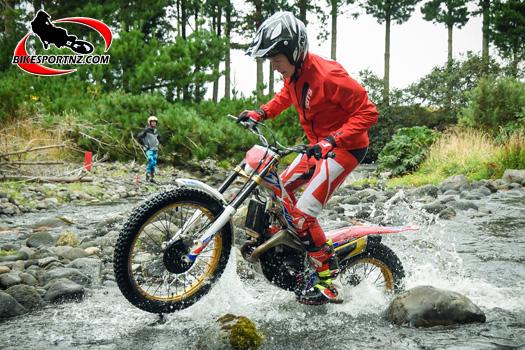 Trial Champs action in Taranaki