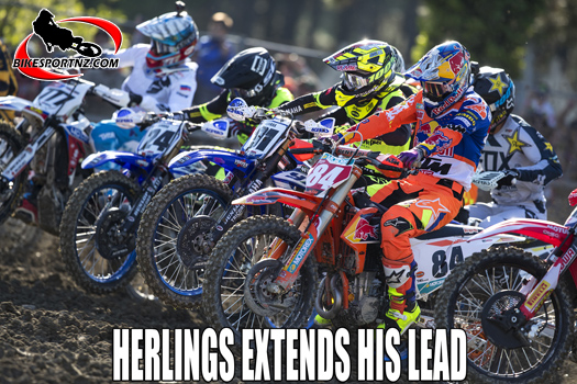 Jeffery Herlings extends his MXGP lead