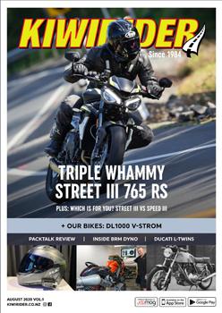 BikesportNZ.com in conjunction with Kiwi Rider