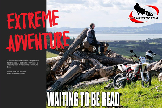 Kiwi Rider magazine in conjunction with BikesportNZ.com