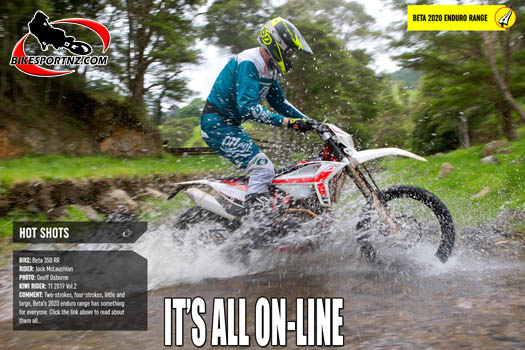 BikesportNZ.com, in association with Kiwi Rider magazine