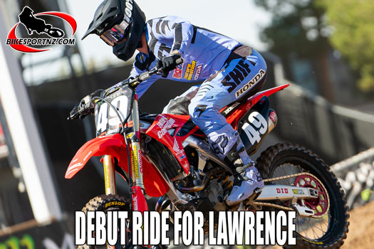 Jett Lawrence making his pro supercross debut