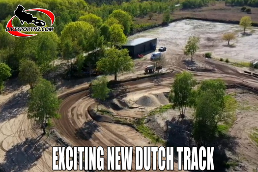 Exciting new Dutch motocross track