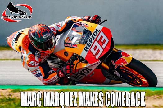 Marc Marquez to return to action