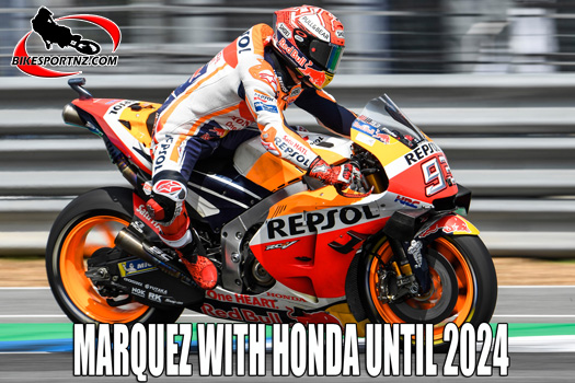 Marc Marquez to remain with Honda