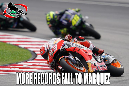 Marc Marquez claims more MotoGP records