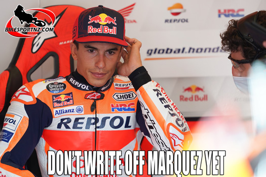 Too early to write off Marc Marquez