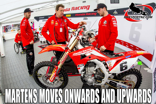 Jacky Martens talks about new JM Honda MXGP team