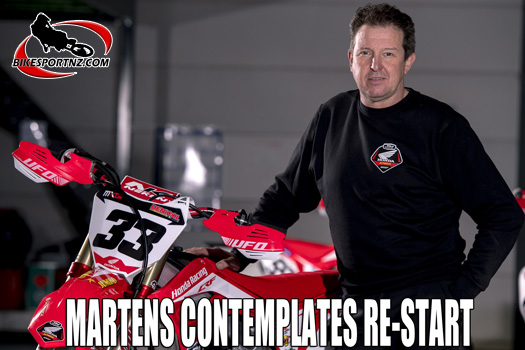 Martens contemplates re-start to MXGP season
