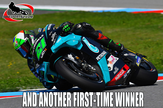 Franco Morbidelli wins at Misano
