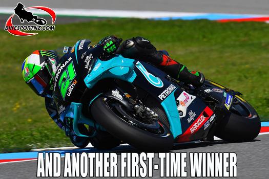 Franco Morbidelli wins at Misano