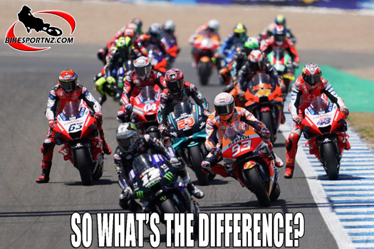 The differences between MotoGP and WSBK