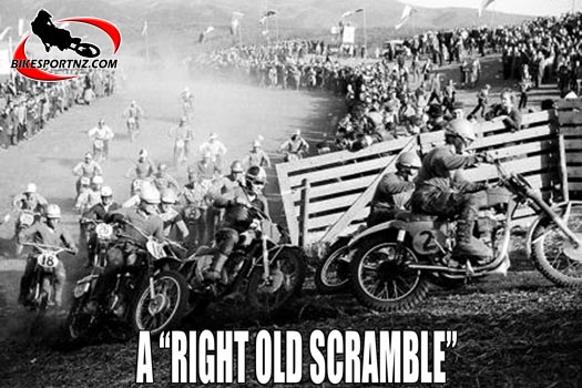 The origins of motocross racing