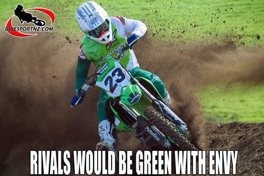 Kawasaki team rivals green with envy