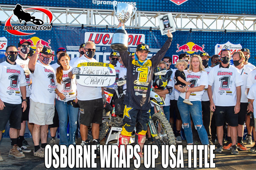 Zach Osborne crowned 450cc champion in USA