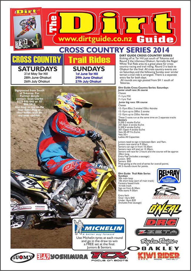Poster-Dirt Guide Series 2014