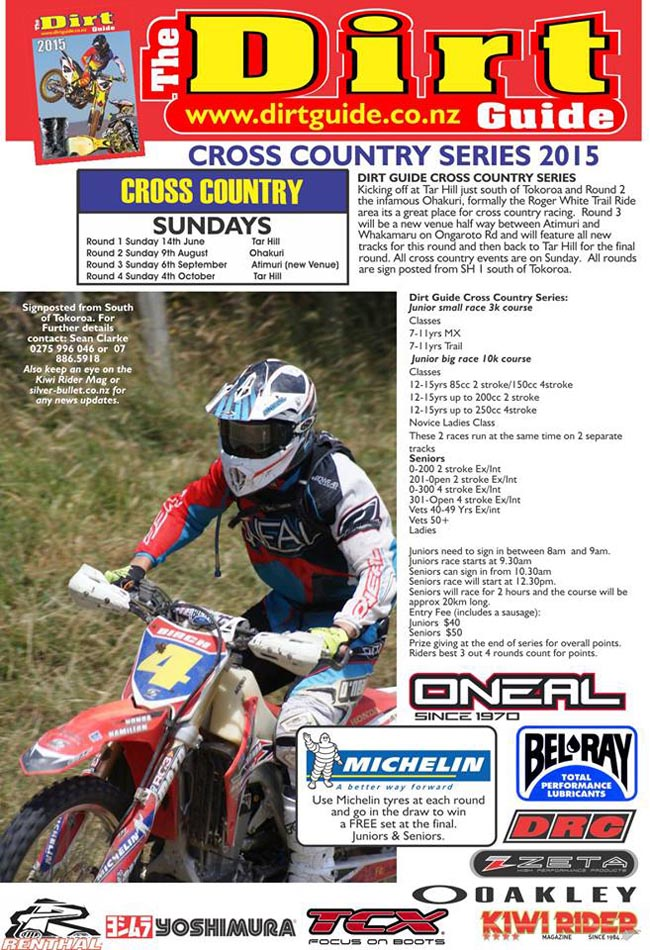 Poster-Dirt Guide Series 2015-a