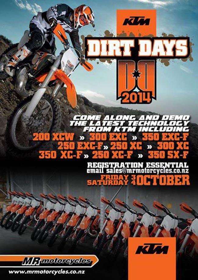 Poster-KTM Dirt Days-2014-a