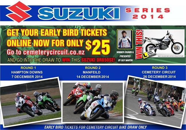 Poster-Suzuki Series 2014-d