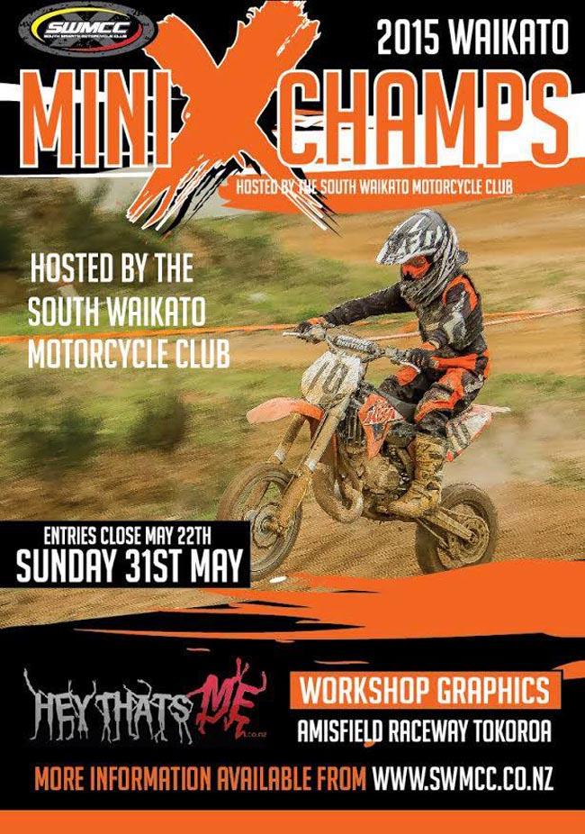 Poster-Waikato Mini MX Champs 2015-a