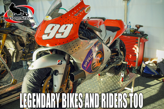 MotoFest has legendary bikes and riders too