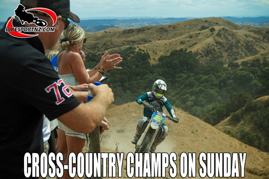 Cross-country nationals begin near Marton on Sunday